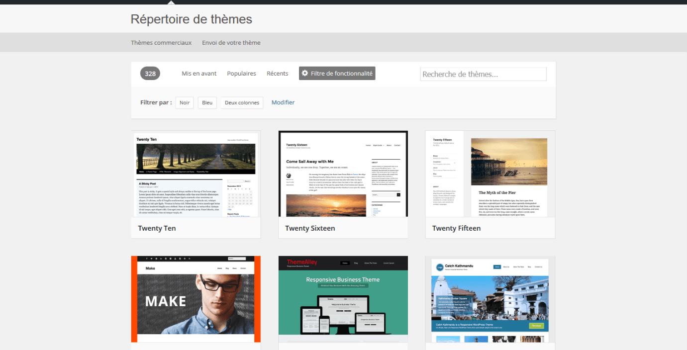 créer son blog gratuitement avec wordpress