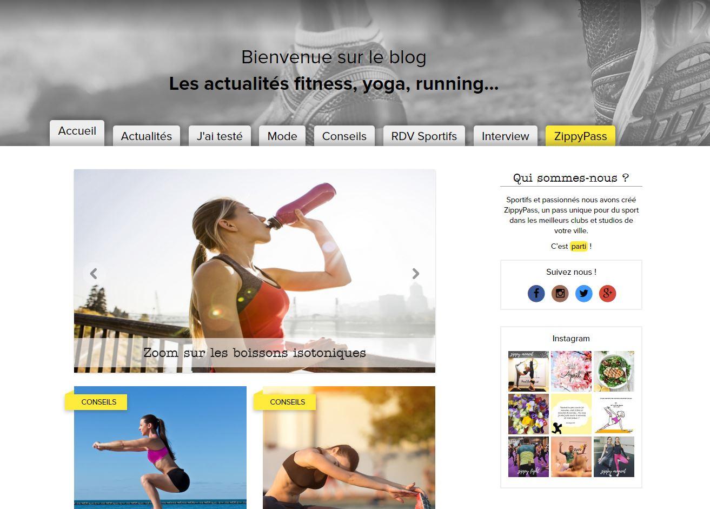 ⚡ 8 exemples de blogs professionnels pour les entreprises L'entreprise permet de s'abonner en quelques clics à différentes salles de  sport parisiennes. Le blog s'adresse directement au consommateur et incite  à ...