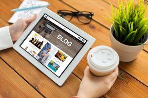 exemple de blog d'entreprise pour votre inspiration